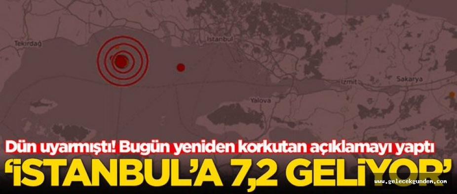 7,2 GELİYOR!