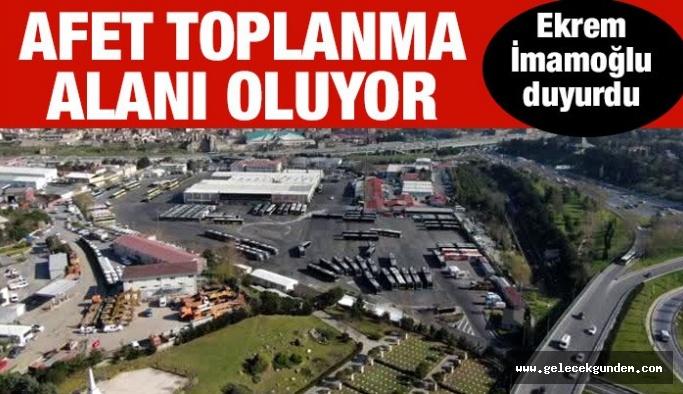 AKP 'lilerin  İmara açıp Katar'a  satacak iddiaları vardı! Topkapı İETT Garajı afet toplanma alanı oluyor!