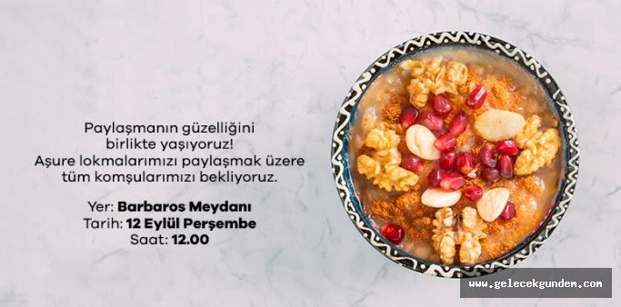 Beşiktaş Belediyesinden  Aşure Lokması!