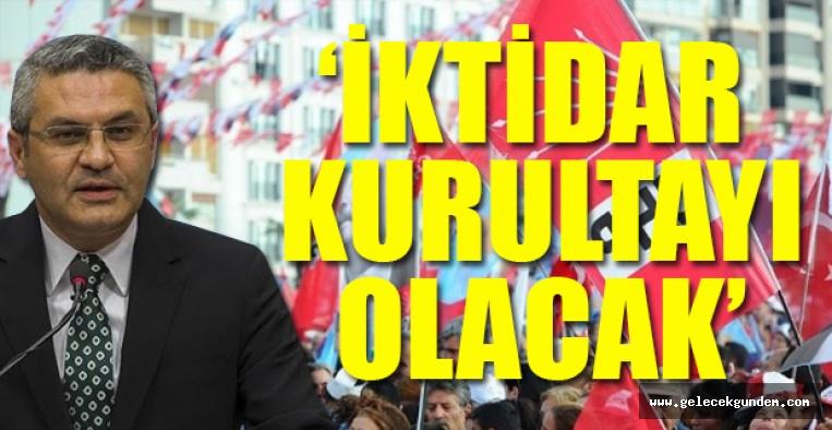 CHP'li Salıcı'dan 'ittifak' ve 'kurultay' açıklaması