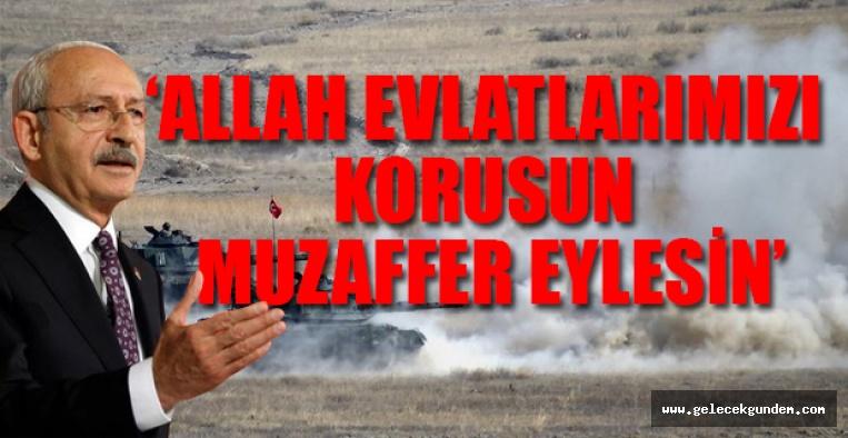 CHP Lideri Kılıçdaroğlu'ndan ilk Barış Pınarı Harekatı açıklaması
