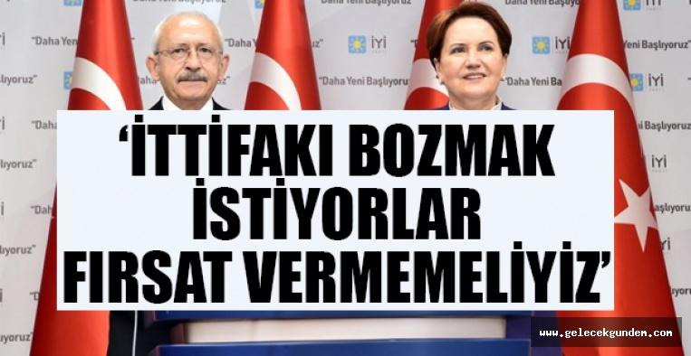 CHP Lideri'nden 'Millet İttifakı' talimatı