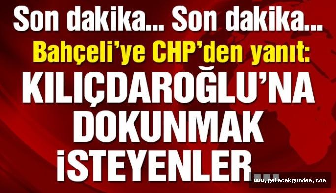 CHP'den Bahçeli'ye yanıt: Demokrasi tokadını bir kez daha yiyeceklerdir