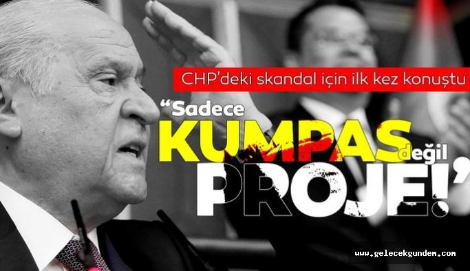 Devlet Bahçeli'den 'Saray'a giden CHP'li tartışmaları hakkında açıklama