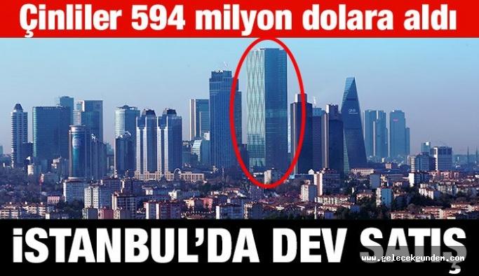 İstanbul'da 594 milyon dolarlık gayrimenkul satışı