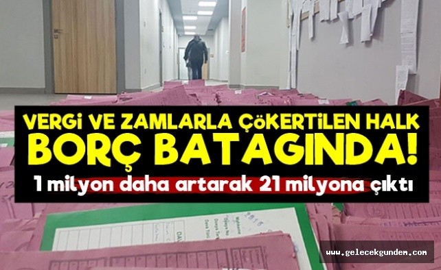 Türk Halkı Borç Batağında!