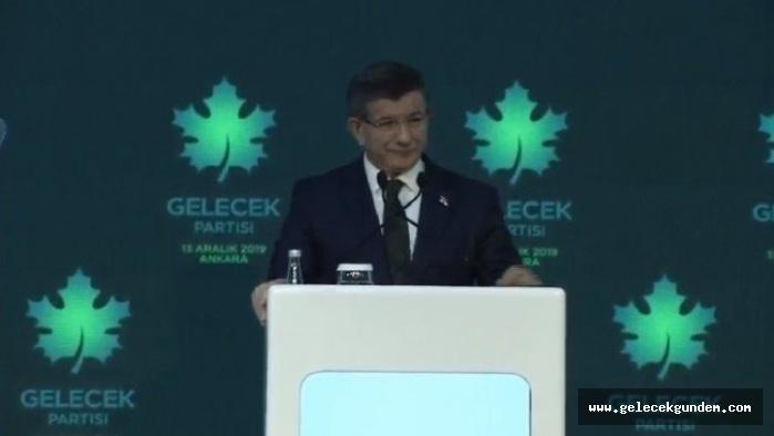 Ahmet Davutoğlu, Gelecek Partisi'nin ilkeleri ve kurucularını açıklıyor