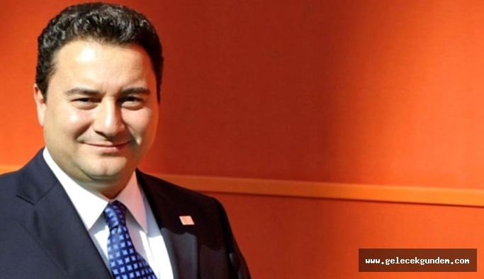 Ali Babacan 'Güçlendirilmiş parlamenter sistemi savunuyoruz.'