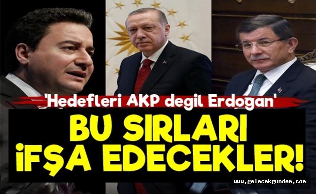 Erdoğan'ın Bu Sırlarını İfşa Edecekler!