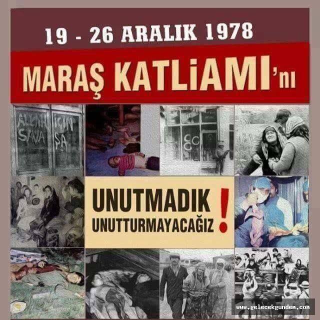 Maraş katliamının 41. yıl dönümü? Maraş katliamı kaç yılında oldu, kim yaptı?