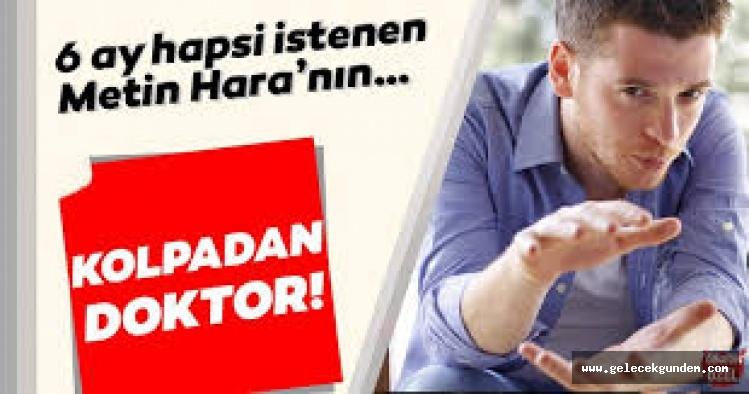 Metin Hara hakkında 5 yıla kadar hapis talebi