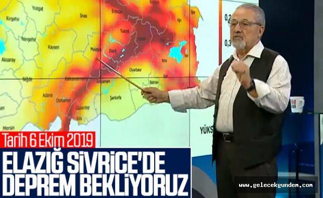 4 ay öncesi Elazığ ve çevresine deprem uyarısı yapılmıştı! Kimse dinlemedi ......