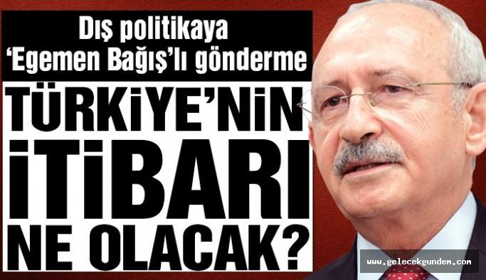 CHP Lideri Kılıçdaroğlu'ndan tezkere için 'Egemen Bağış'lı' tepki