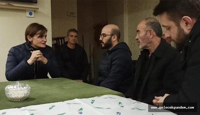 CHP'li Kaftancıoğlu'ndan Sibel Ünli'nin ailesine taziye ziyareti!
