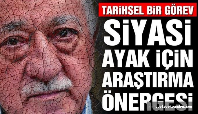 FETÖ'nün 'siyasi ayağını araştırma önergesi' Meclis'e sunuldu.Gözler AKP ve MHP 'de  !!