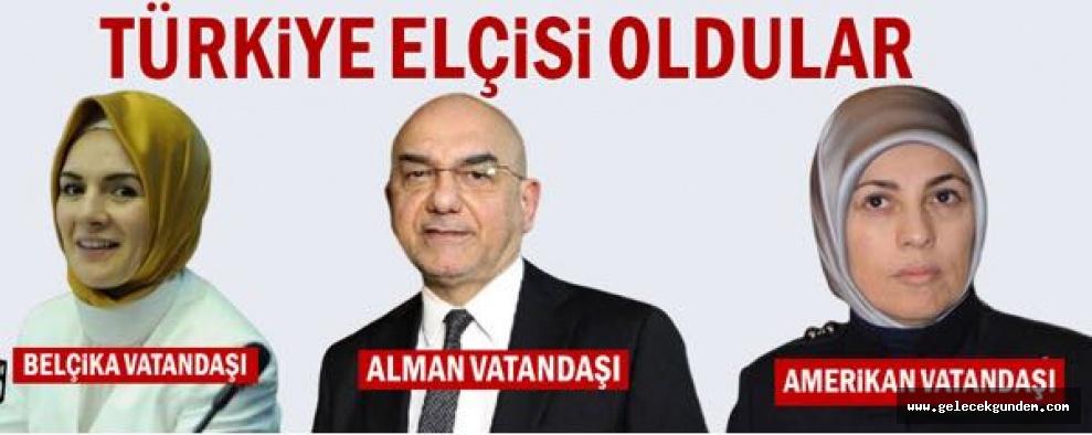 AKP İKTİDARINDA TÜRK BÜYÜKELÇİLİKLERİNE YABANCI ÜLKE VATANDAŞLARI ATANDI!