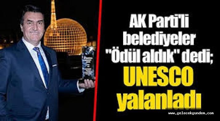 AKP'li belediyelerin aldıkları ödül bile sahte çıktı