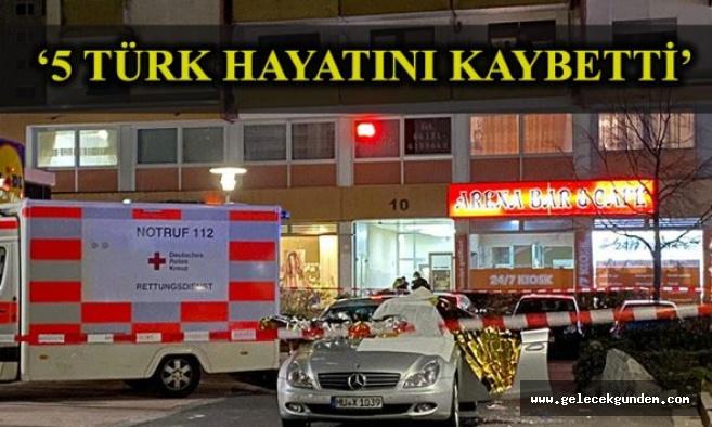 Alman ırkçılar katilam yaptı! Almanya'da biri Türklere ait iki kafeye silahlı saldırı! 11 ölü 4 yaralı