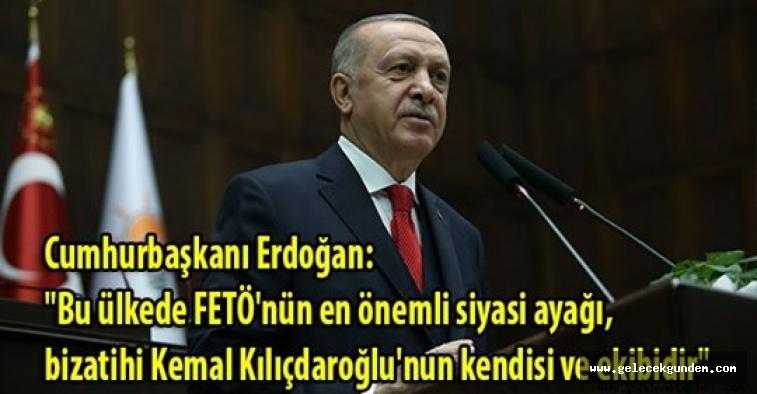 """Cumhurbaşkanı Erdoğan: """"FETÖ'nün siyasi ayağı bay Kemal'in yatak odasına girmiş haberi yok!"""""""
