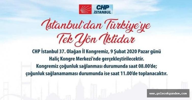Tek Adaylı CHP İstanbul İl Kongresi'nin saat saat programı! Kılıçdaroğlu ve İmamoğlu da katılacak