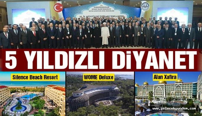 Türkiye/de 5 yıldızlı Diyanet