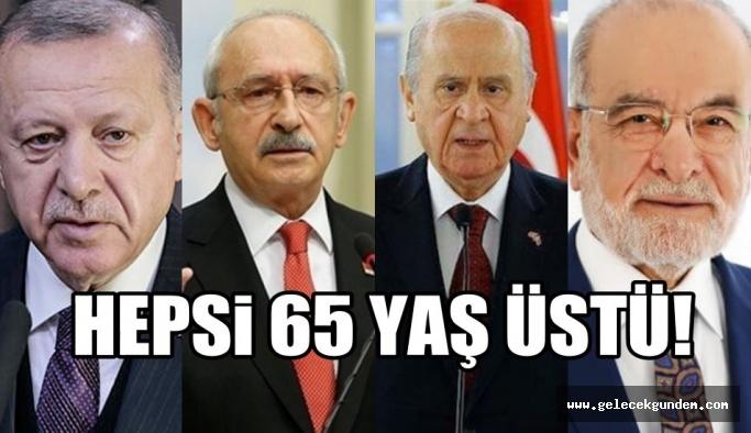 65 yaş sınırına takılan siyasiler