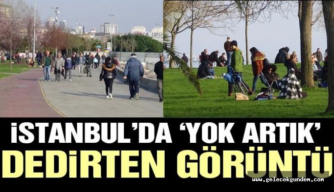 İstanbul'da 'yok artık' dedirten görüntü! Bu bir Zaytung haberi değildir!