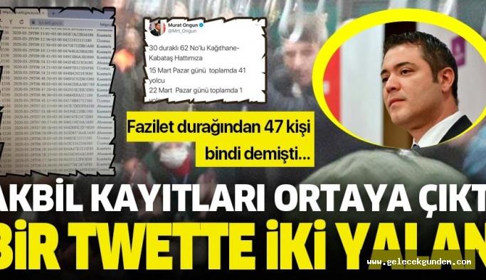 MURAT ONGUN ,CHP'YE VE EKREM İMAMOĞLU'NA ZARAR VERMEYE DEVAM EDİYOR!