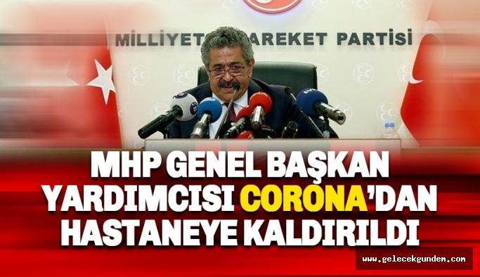 MHP'li Feti Yıldız coronadan hastaneye kaldırıldı