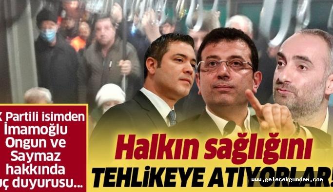 Mücahit Birinci'den Ekrem İmamoğlu, Murat Ongun ve İsmail Saymaz hakkında suç duyurusu.