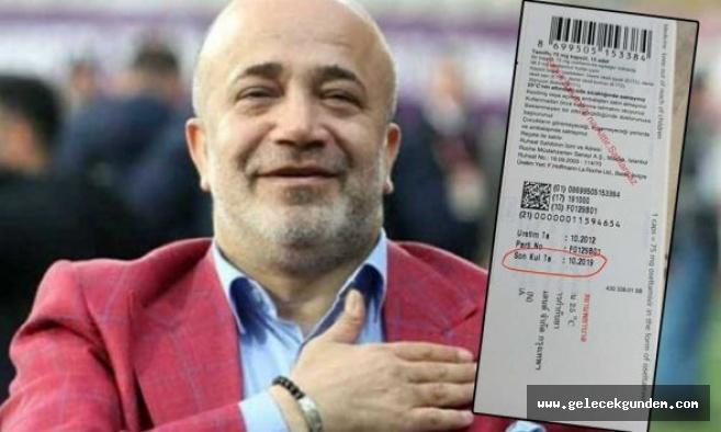 Sağlık Bakanlığı yandaş Ethem Sancak'ın yeğeninin ithal ettiği tarihi geçmiş ilaçları stokladı iddiası