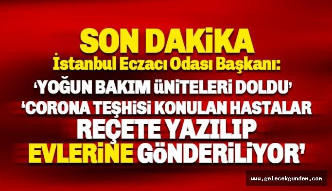 Sarıalioğlu: İstanbul'da yoğun bakım ünitelerinde yer kalmadı