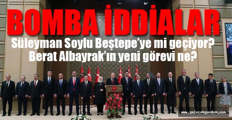 AKP 'de Kabineye revizyon mu geliyor?