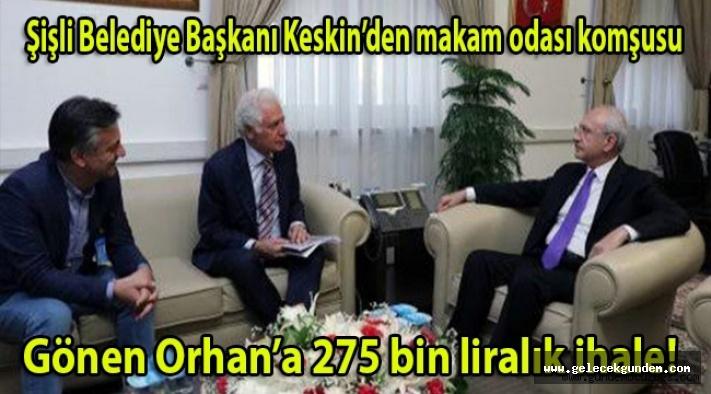 CHP'Lİ ŞİŞLİ BELEDİYESİNDE ORGANİZE İŞLER ! BAŞKAN DANIŞMANI'NA İHALE...