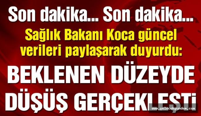 Türkiye'de coronadan kaynaklı güncel can kaybı ve vaka sayısı açıklandı