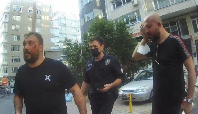 İstanbul'da avukatlık bürosunda feci dayak