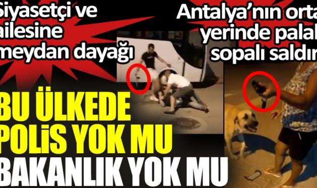 Antalya'da Gelecek Partisi Konyaaltı Kadın Kolları başkanına saldırı