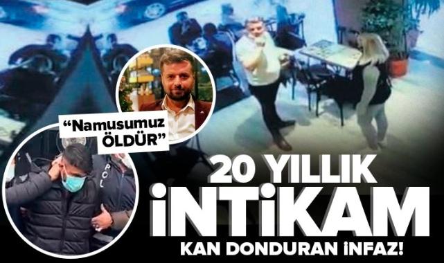 20 yıllık intikam! İstanbul'da kan donduran infaz