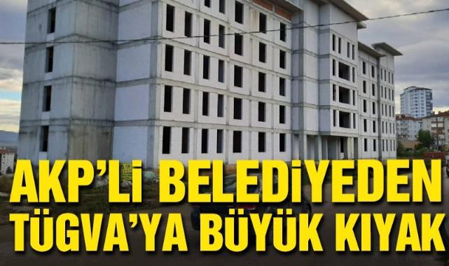 AKP'li belediyeden TÜGVA'ya büyük kıyak!