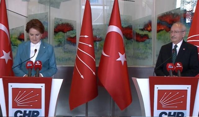 Akşener ve Kılıçdaroğlu'ndan ortak açıklama: İmamoğlu, Diyarbakır'a giderken benden izin aldı!