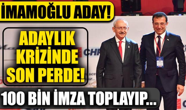 Çarpıcı İmamoğlu iddiası! '100 bin imza ile...