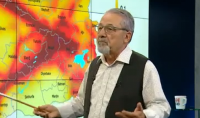 Prof. Dr. Naci Görür'den deprem uyarısı: Harita ile anlattı