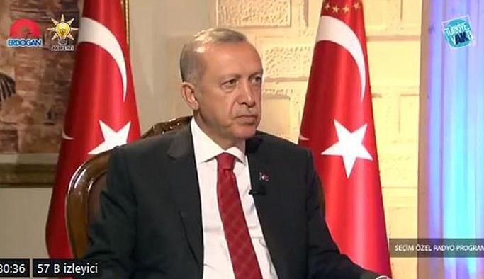 Son dakika… Erdoğan başkanlığını ilan etti