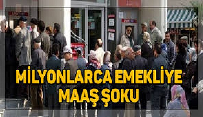 EMEKLİ'YE BAYRAM MAAŞI ŞOKU!