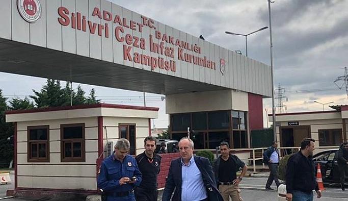 """MUHARREM İNCE """"EREN ERDEM ÖZGÜR BIRAKILMALIDIR"""""""
