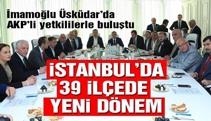 İstanbul'da bir ilk… İlk ortak masa Üsküdar'da kuruldu