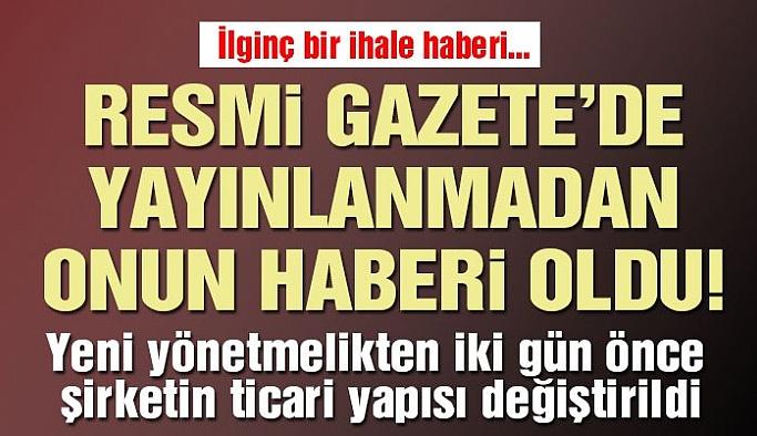 AKP 'Lİ FATİH BAŞÇI'YA BİR İHALE DAHA !!!
