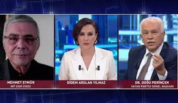 Doğu Perinçek İle Mehmet Eymür Canlı Yayında Kavga Etti!