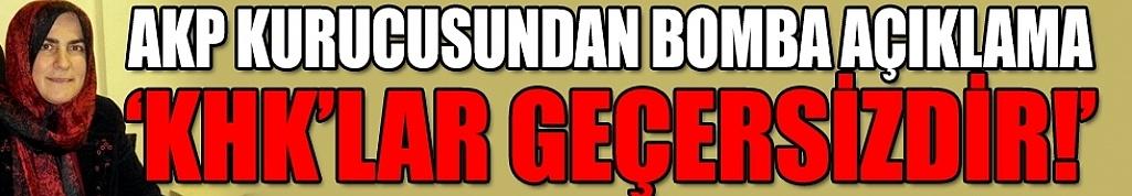 AKP kurucusundan bomba açıklama: KHK'lar geçersizdir!