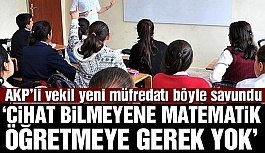 AKP'Lİ VEKİLDEN AKILLARA ZARAR AÇIKLAMA!